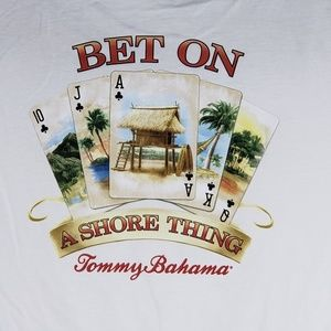 Tommy Bahama Graphic T-Shirt Bet On A Shore Thing
